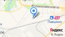 Ателье на Железнодорожном проезде на карте
