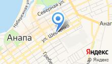 Аксиния на карте