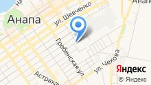 Анапский земельный центр на карте