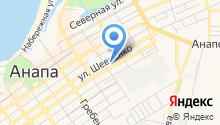 Гостевой дом на ул. Самбурова на карте