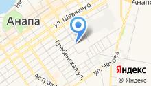 Зеленстрой, ЗАО на карте