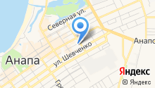 Кристина на карте