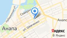 Адвокатский кабинет Бережной Л.В. на карте