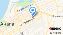Анапский районный суд на карте