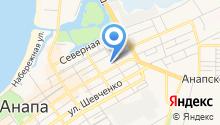 Анапский комплексный центр социального обслуживания населения, ГБУ на карте