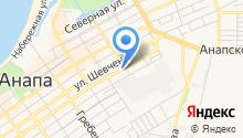 Анапское полиграфпредприятие на карте