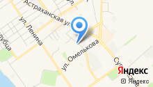 Управление Пенсионного фонда РФ в г. Анапе на карте