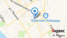 Управление Пенсионного фонда РФ в городе-курорте Анапе Краснодарского края на карте
