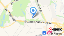 Красногорская служба заказчика, МП на карте