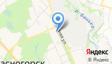 ПЗ Октябрьский на карте