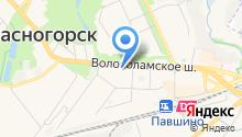 Красногорское медицинское училище на карте