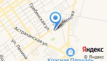 Анапагоргаз на карте