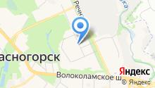 Архитектурно-планировочное управление Московской области, ГБУ на карте