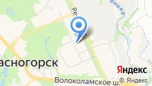 Красногорское районное телевидение на карте