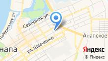 Анапацентр-ККМ на карте