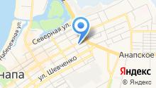 Детос, интернет магазин детской обуви Анапа - Детская обувь в Анапе - интернет магазин det-os.ru на карте