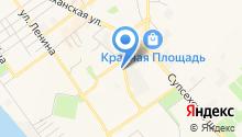 Домашний на карте