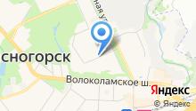 Красногорские вести на карте