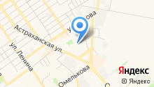 Детский сад №14, Тополёк на карте