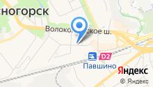 Главное Управление Пенсионного фонда РФ №9 г. Москвы и Московской области на карте