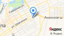 Адвокатский кабинет Нарыжного А.Н. на карте