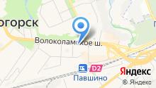 Адвокат Ющенко Н.Л. на карте