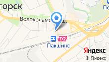 Красногорское, ПК на карте