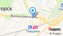 Красногорский правовой центр на карте