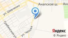 Отдел судебных приставов по г. Анапе на карте