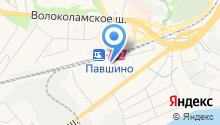 Красногорский дилерский центр на карте