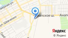 Автоспас-юг на карте
