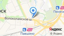 ЛинзАмат на карте