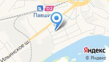 ТИГС-М на карте