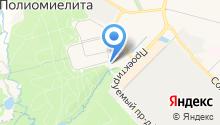 Храм святого великомученика Георгия в Московском на карте