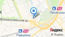 Mangustin на карте