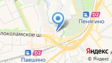 Красногорская типография на карте