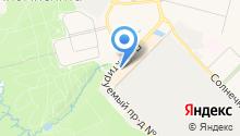 Магазин сумок и головных уборов на карте