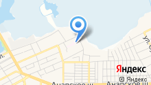 Детская городская больница города-курорта Анапа на карте