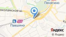 Зооцентр на Ильинке на карте