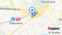 Магазин канцелярских товаров на Павшинской на карте