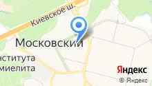 Московский на карте