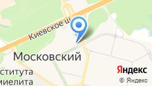 Московский дворик на карте