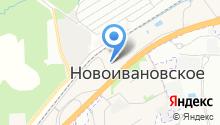 Фортуна-Строй на карте