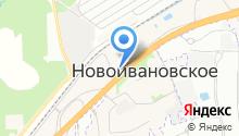 Торгово-выставочный центр строительных материалов на карте