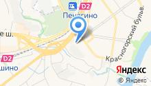 Автомойка на Красногорском бульваре на карте