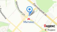 8 Марта на карте