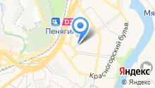 Магазин цветов на Подмосковном бульваре на карте