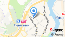 Московская объединенная электросетевая компания, ПАО на карте
