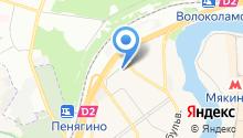 Балетный класс Ольги Вагановой на карте
