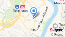 На Ильинском на карте